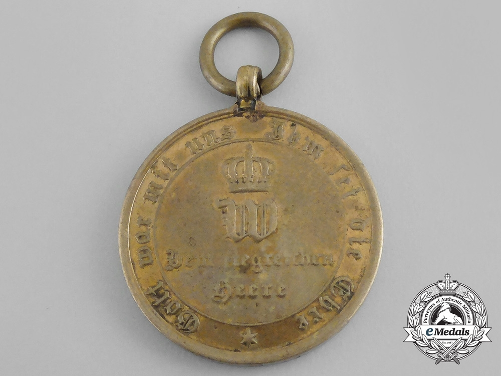 A German Imperial War Commemorative Medal of 1870-1871