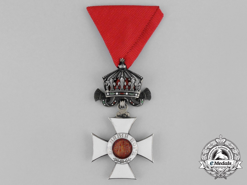 Bulgaria, Kingdom. An Order of St. Alexander; IV Class Officer