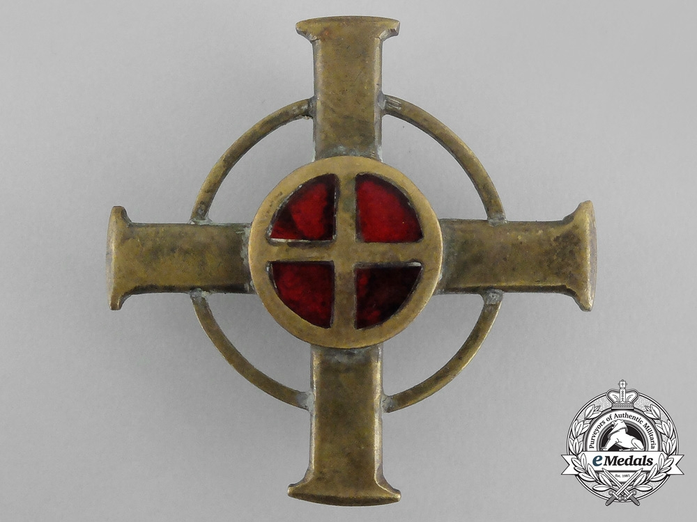 A Wartime Norwegian Legion State Police Honour Cross; 2nd Class