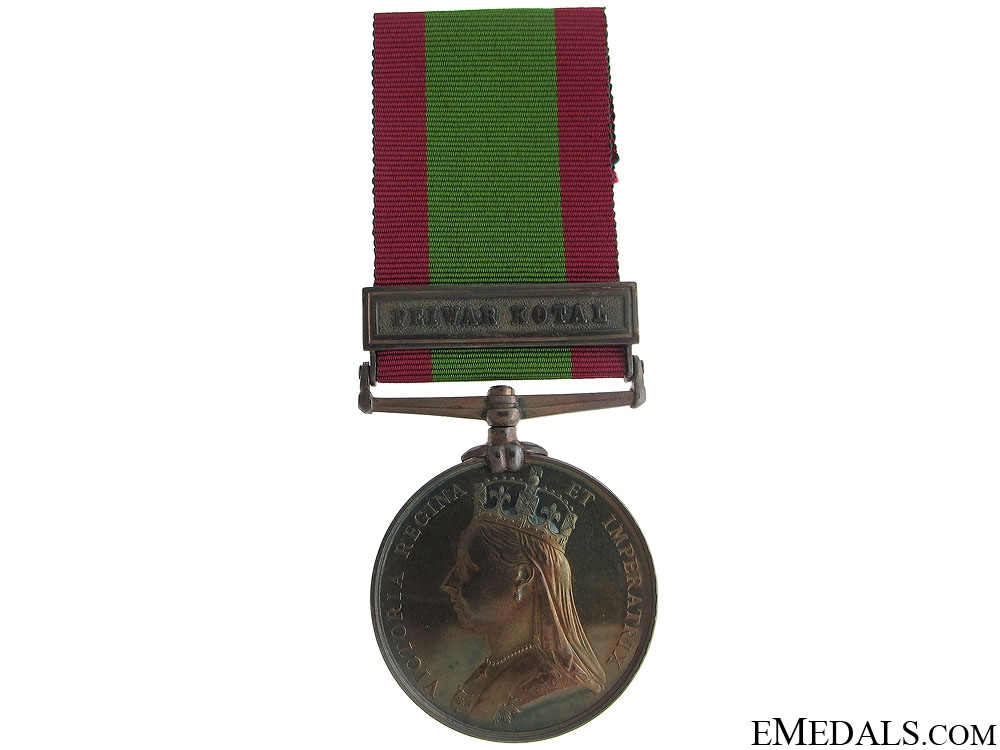 Afghanistan Medal 1878-80 - 8th Regiment
