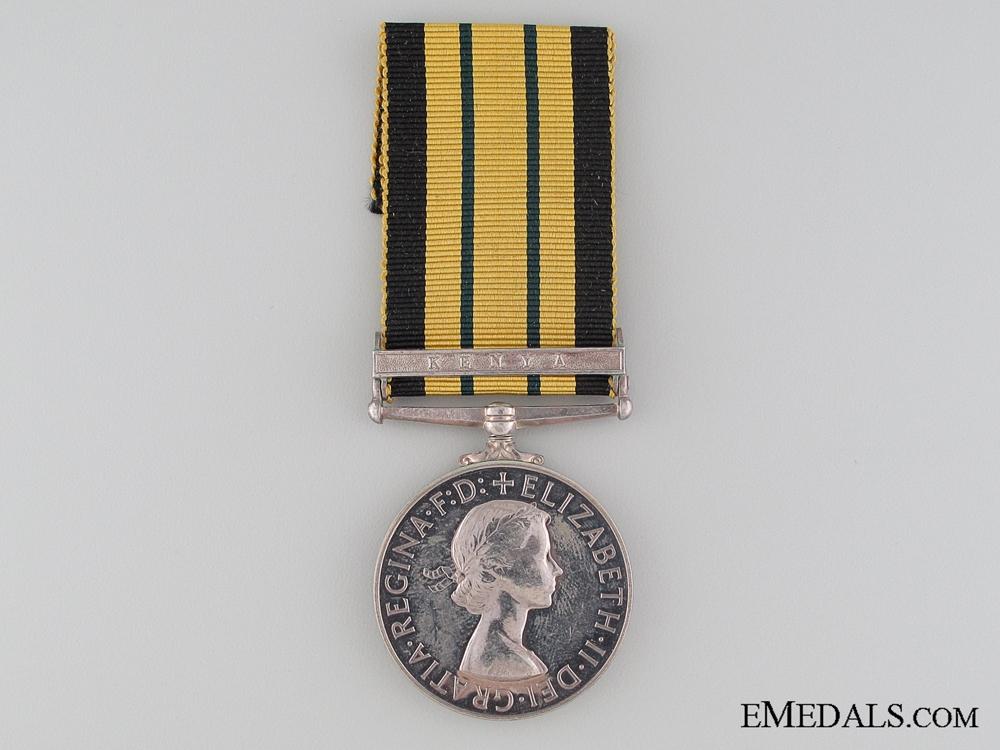 Africa General Service Medal 1902-56; Kenya