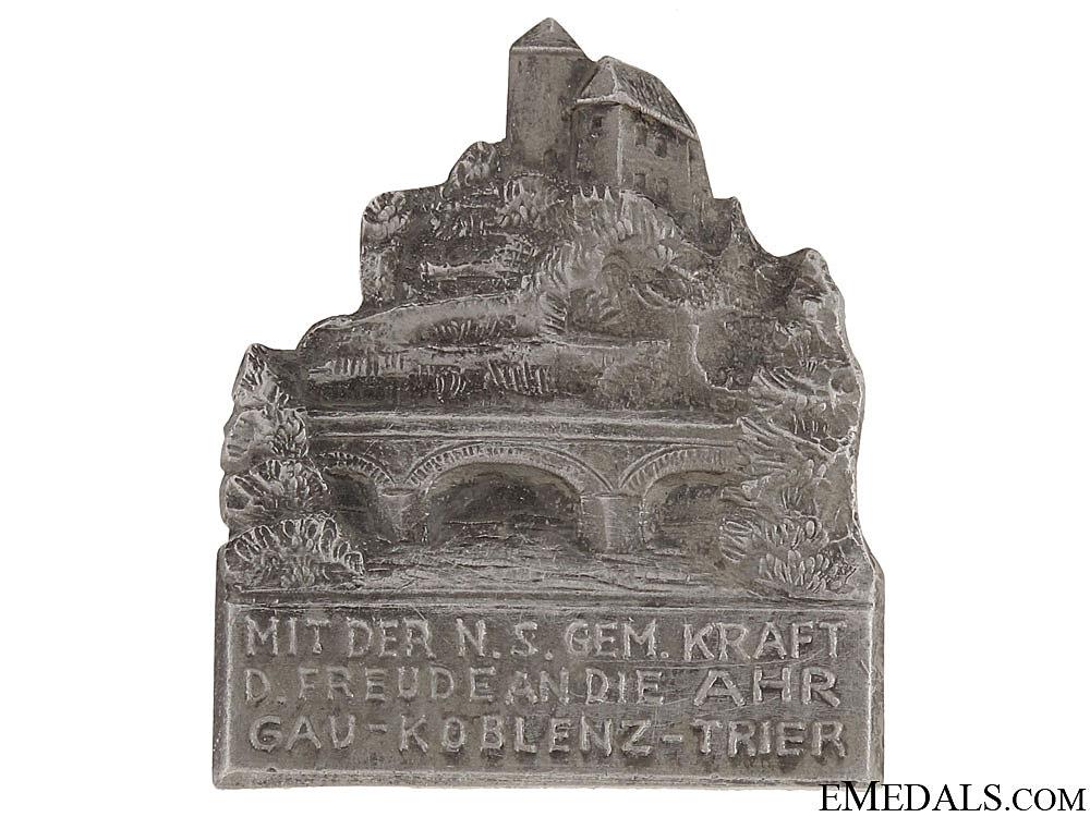 Ahr Valley - Gau Koblenz-Trier Tinnie