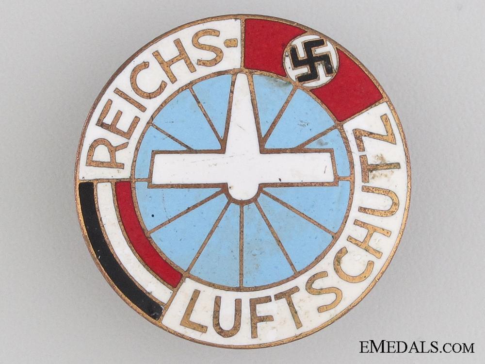 Air Raid Protection Badge