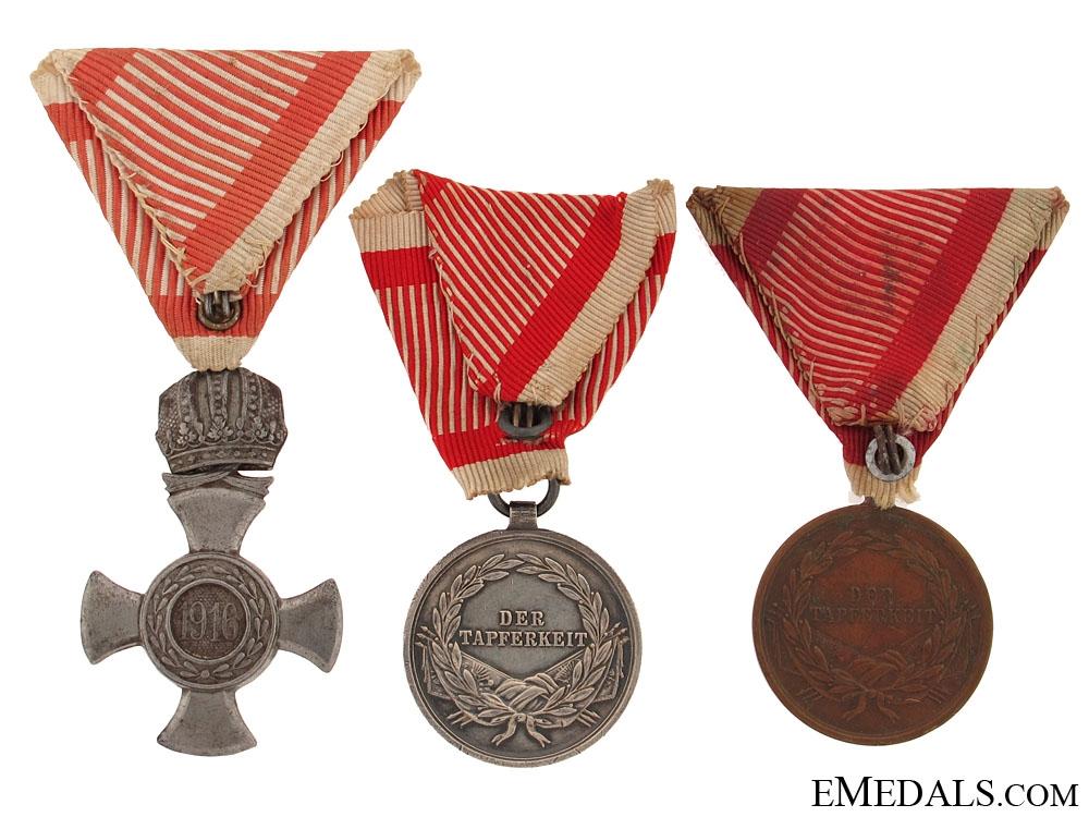 Three Austrian Awards
