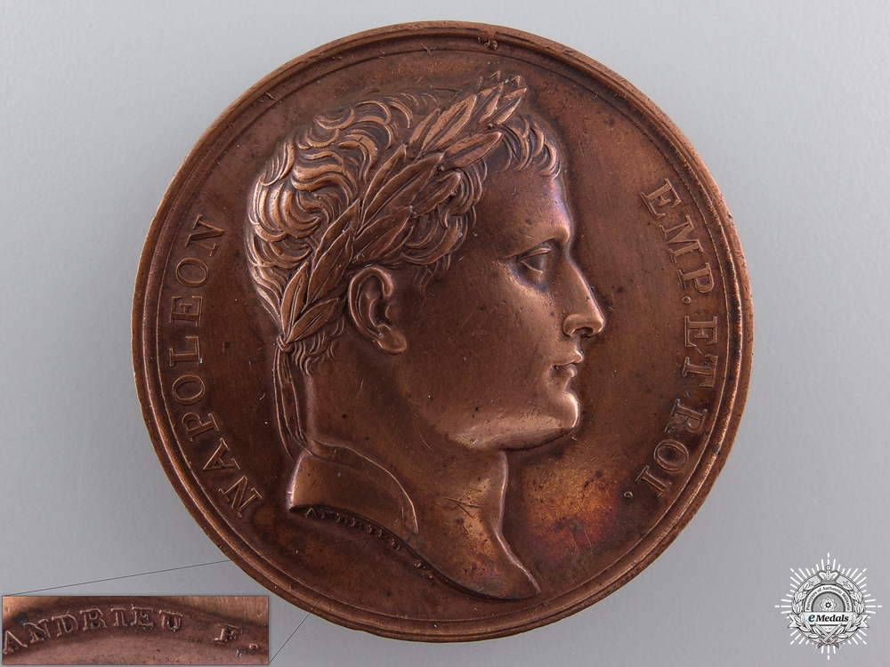 An 1806 Napoleon's Conquering of Istria Medal