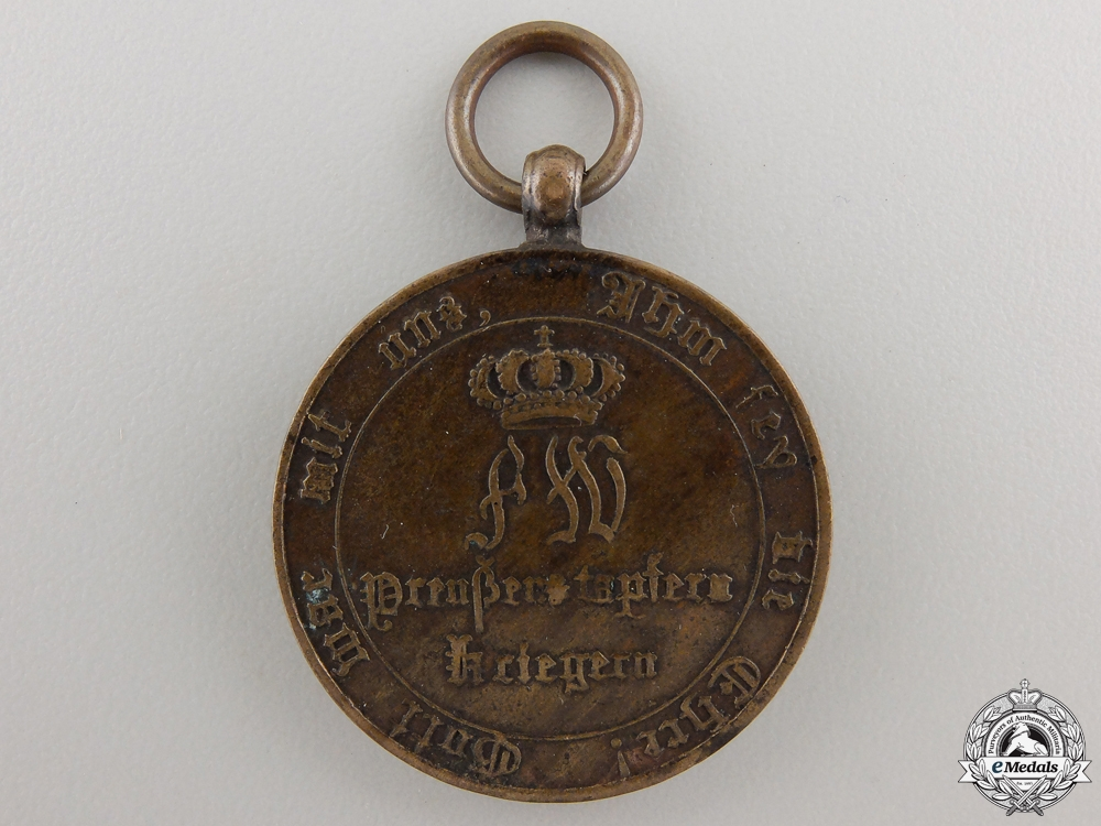 An 1813 Prussian Campaign Medal for Combatants