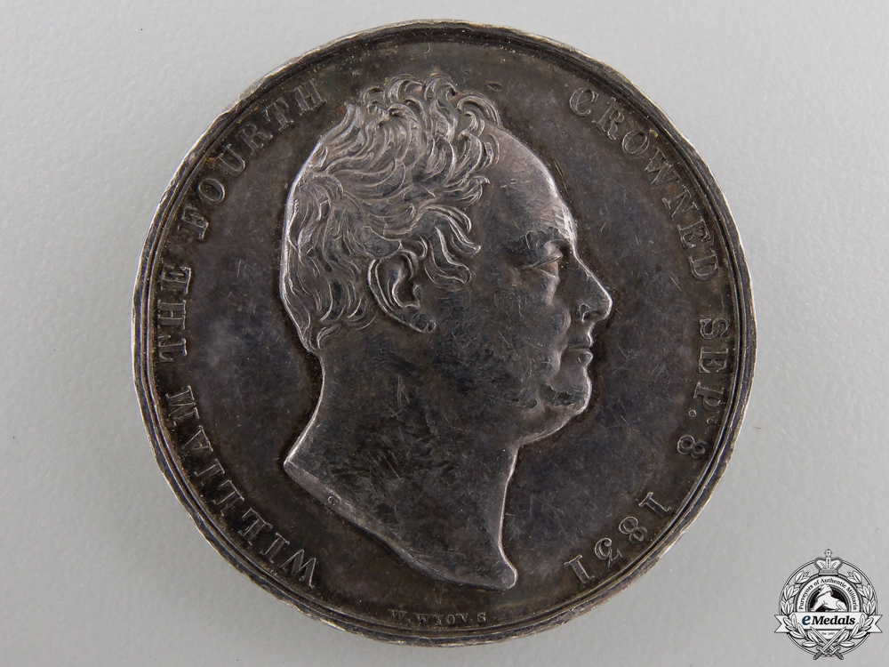 An 1831 William IV Coronation Medal