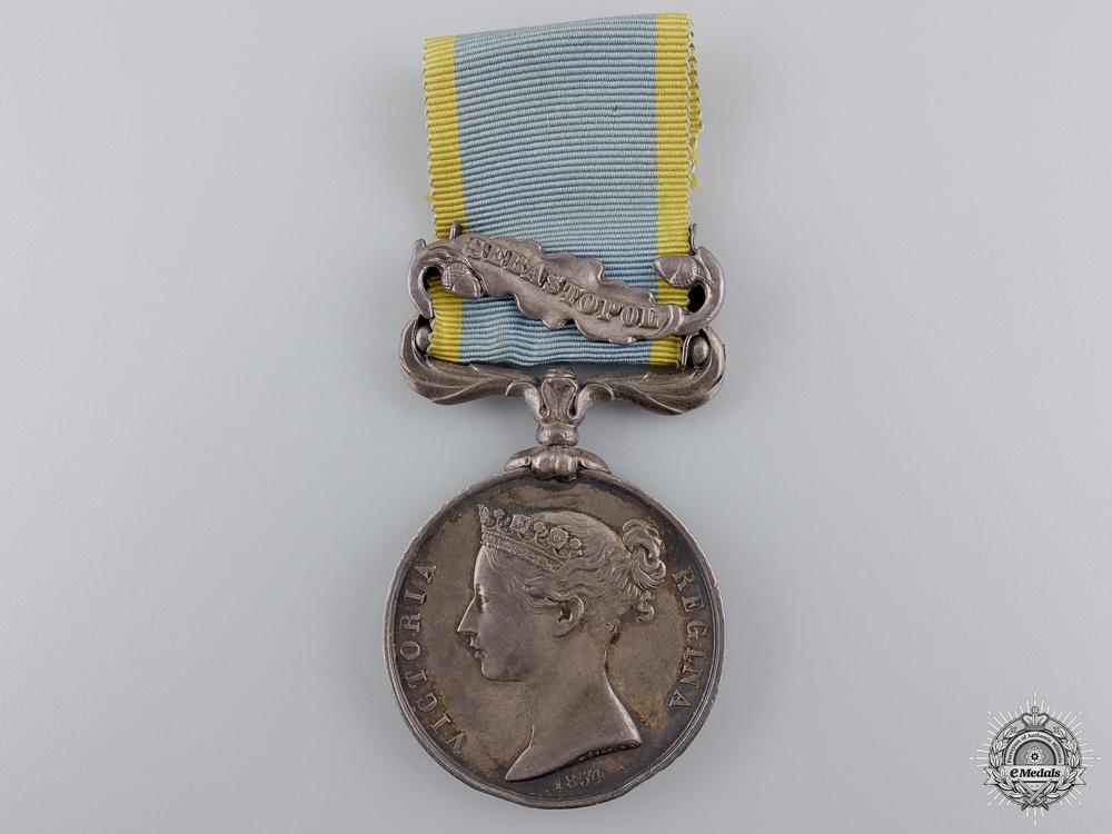 An 1854-56 Crimea Medal for Sebastopol