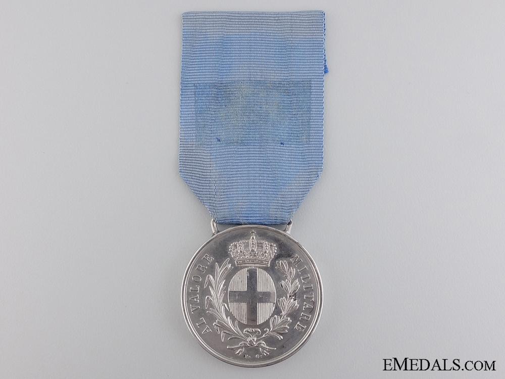 An 1859 Italian Al Valore Militare Medal