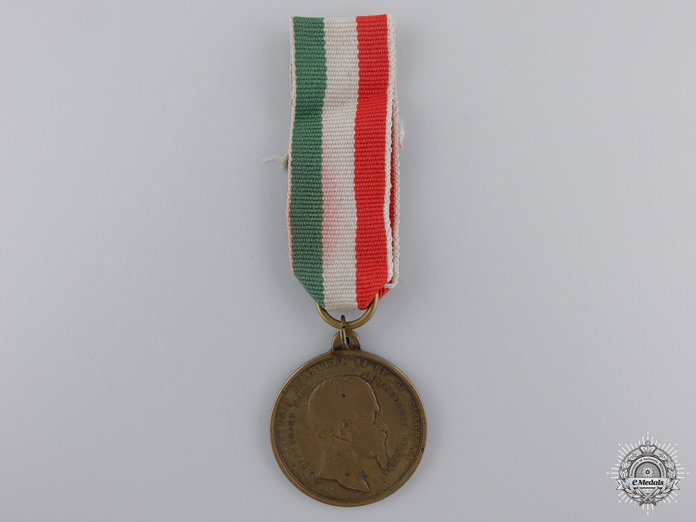 An 1859 Italian War of Independence Medal
