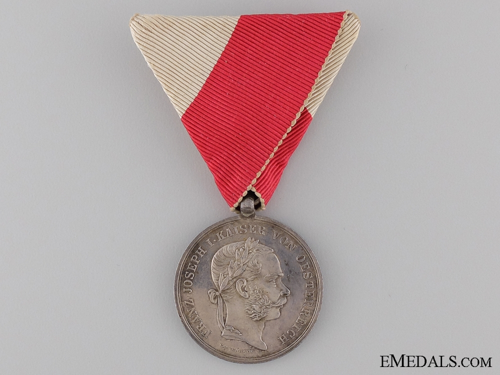 An 1866 Austrian Tirol Commemorative Medal