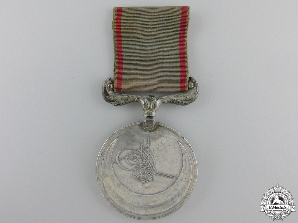 An 1869 Turkish Campaign Medal for the Crete Campaign