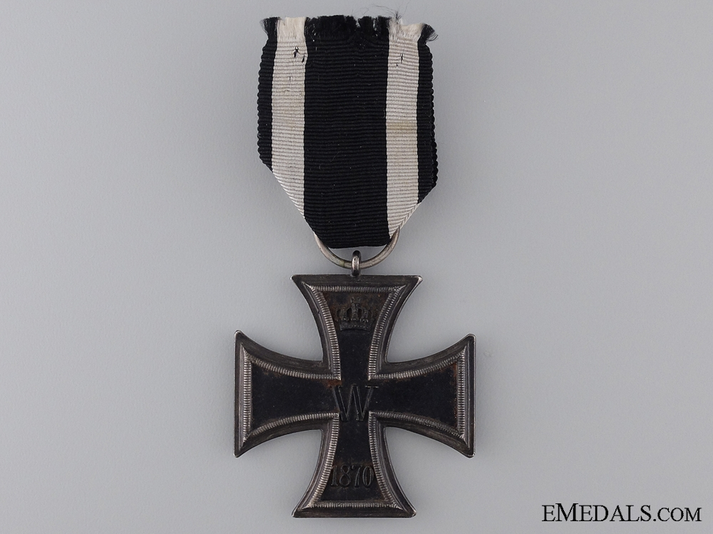 An 1870 Iron Cross Second Class