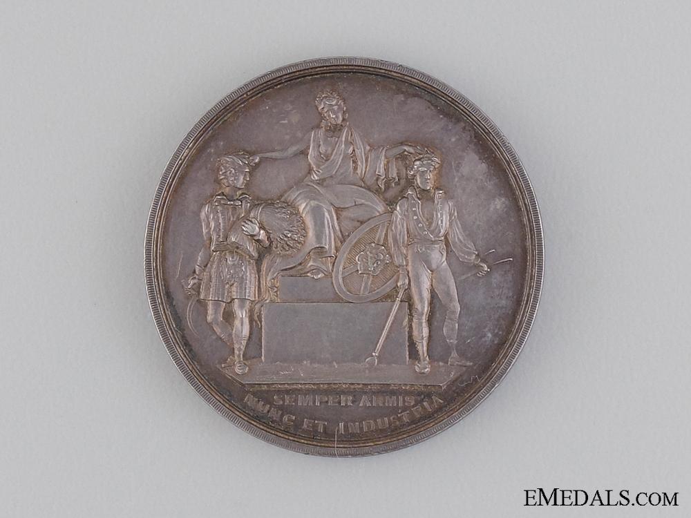 An 1876 Highland Society of Scotland Medal
