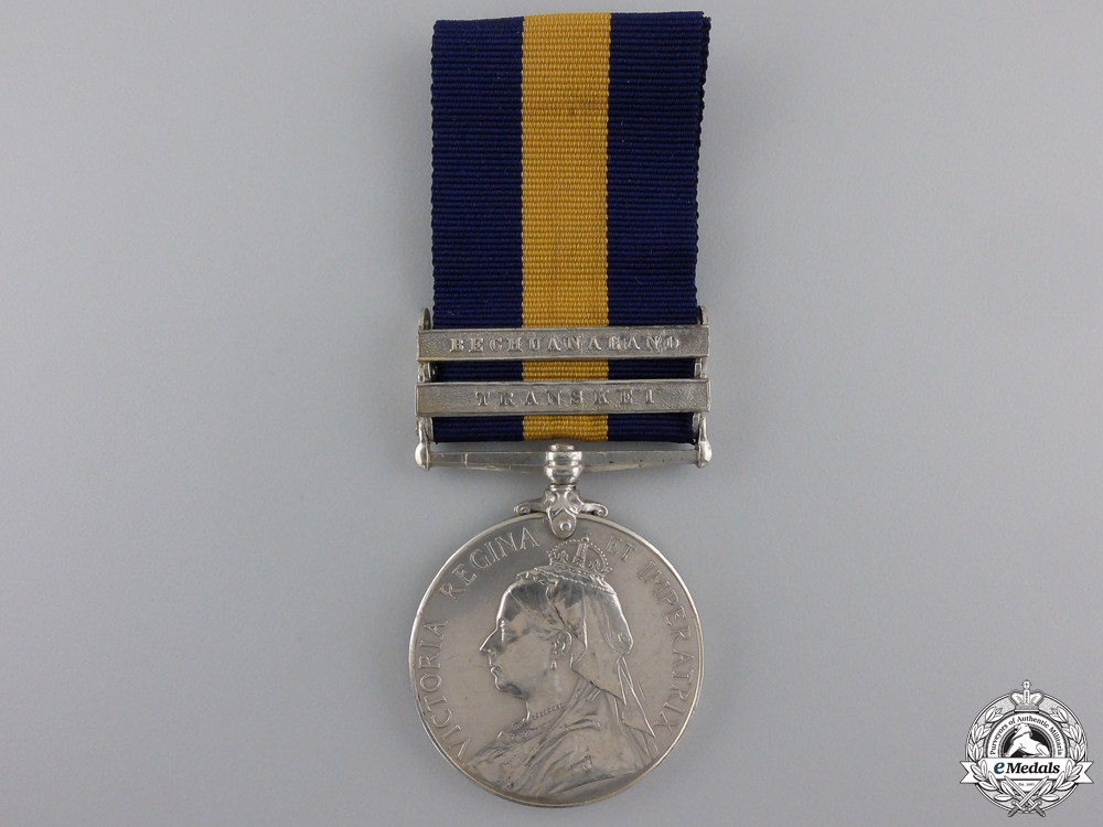 An 1880 Cape of Good Hope General Service Medal