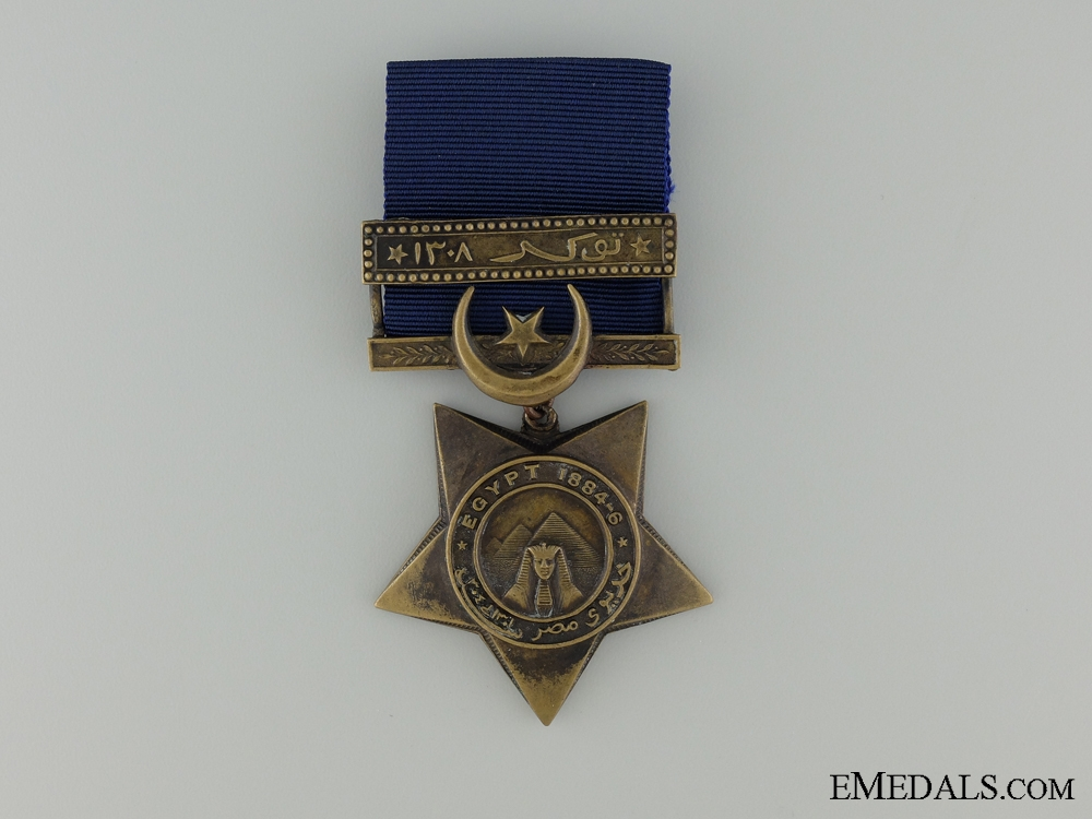 An 1882-91 Khedives' Star with Tokar Bar