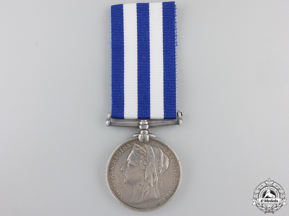An 1882 Egypt Medal to the Royal Marine Artillery (Portsmouth Div.)