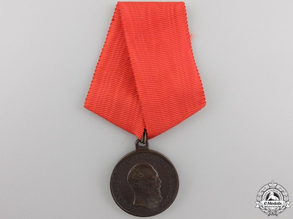 An 1883 Imperial Russian Alexander III Coronation Medal