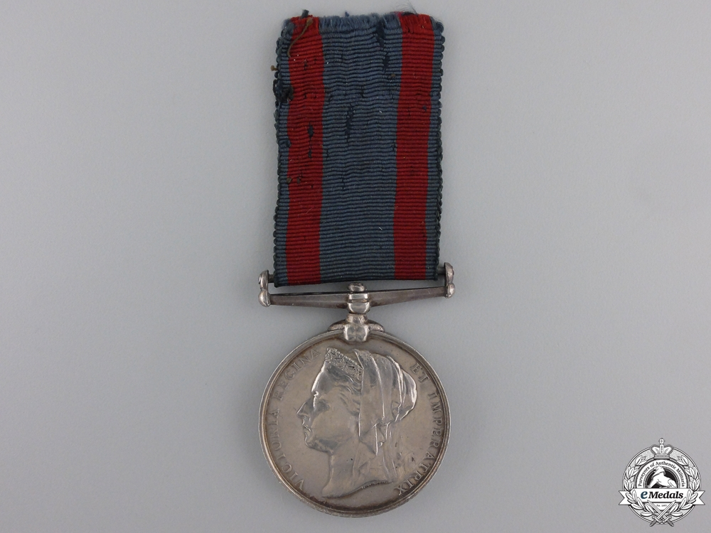 An 1885 North West Canada Medal