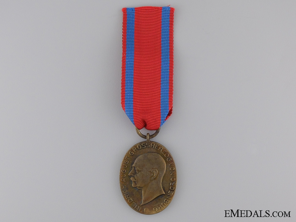 An 1916-18 Oldenburg Faithful Service Medal