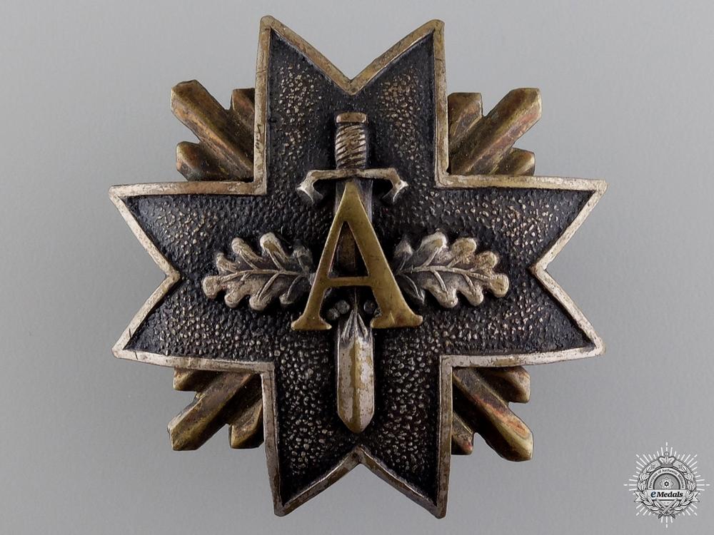 An 1919-40 Latvian Military Badge