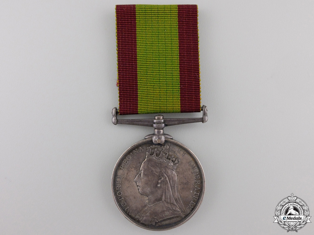 An Afghanistan Medal to the 5th Regiment of Foot Con #41