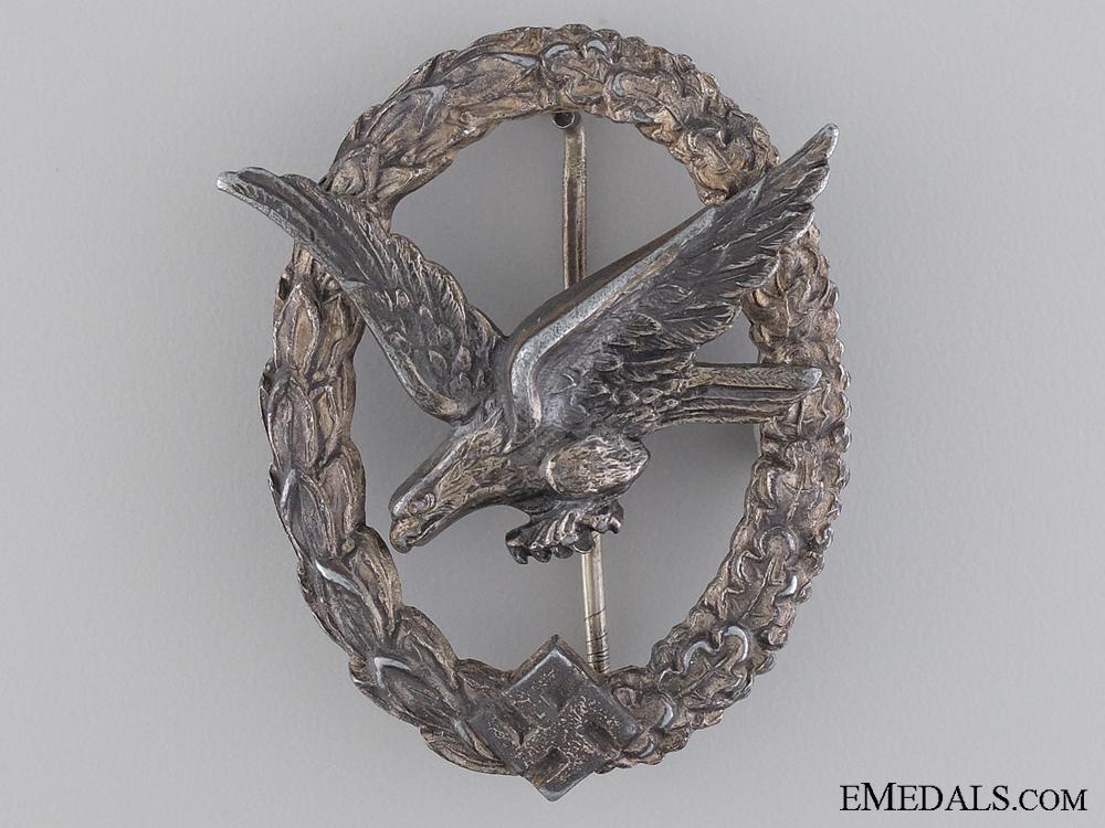 An Air Gunner Badge by W. Deumer, Lüdenscheid
