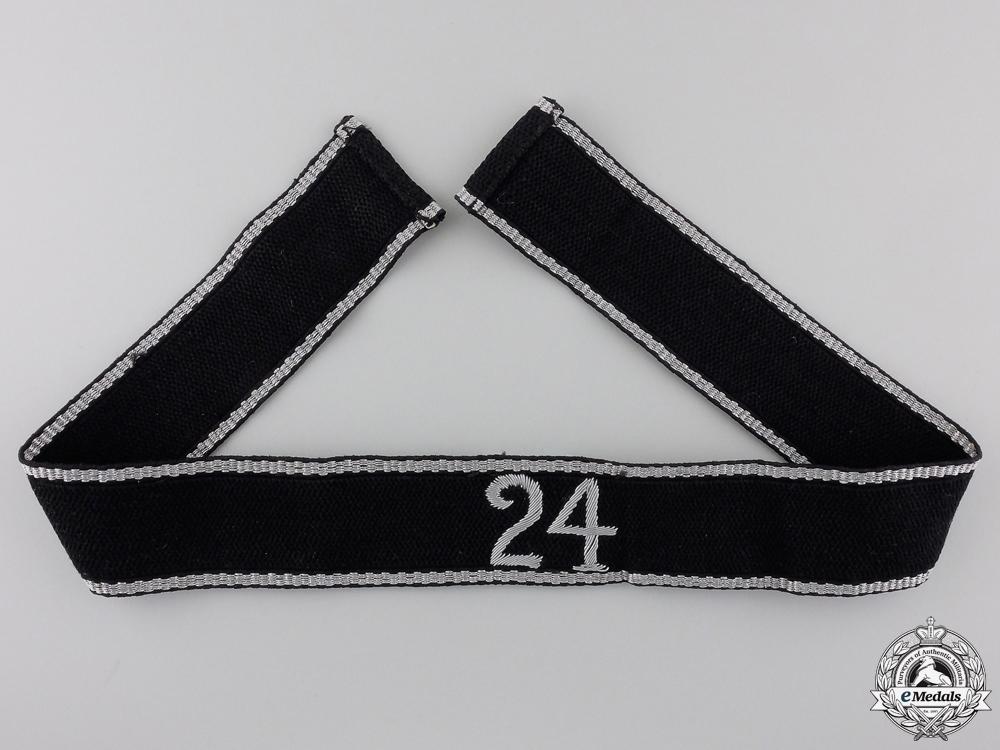 An Allgemeine-SS 24th Standarte Officer's Cufftitle