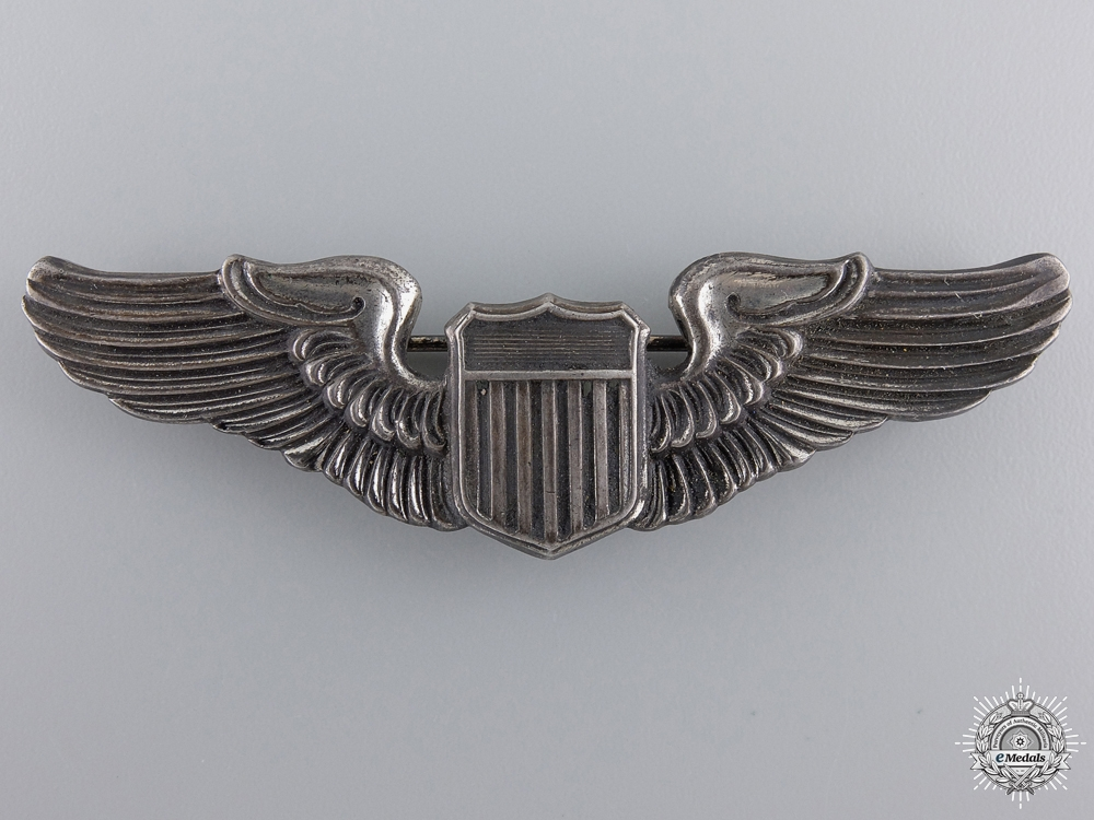 An American Army Air Force Pilot Badge by NS Meyer