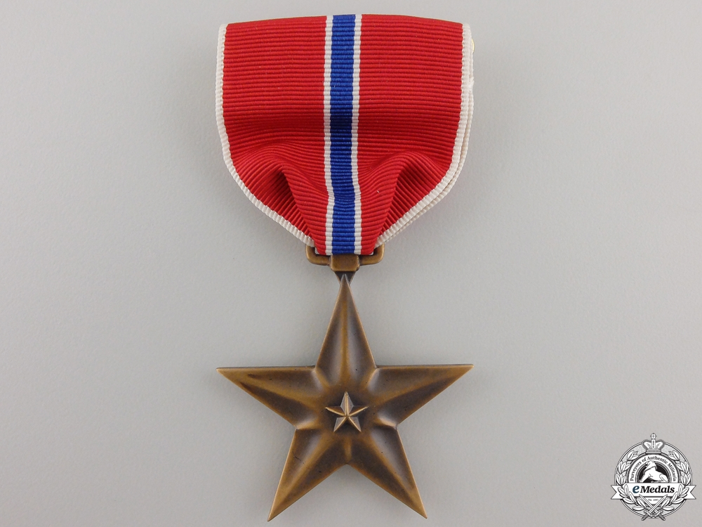 An American Bronze Star to Frederick W. Horton