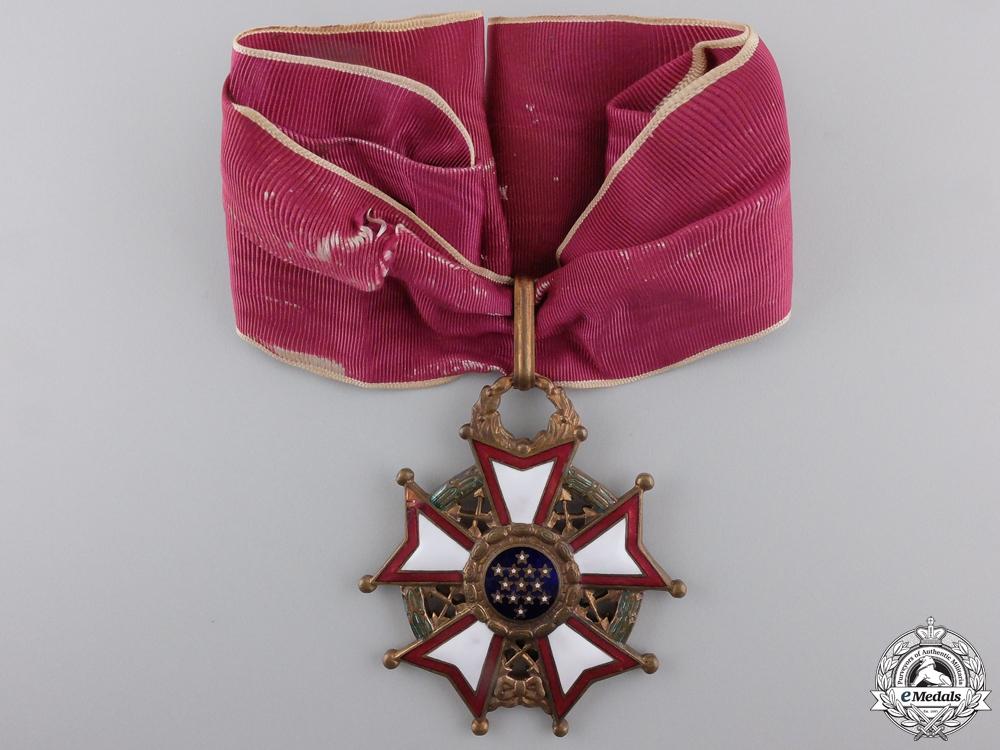 An American Legion of Merit; Commander's Neck Badge