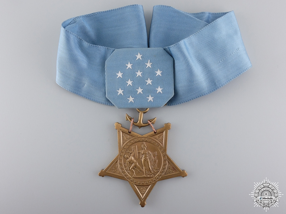 An American Medal of Honor; Navy Issue