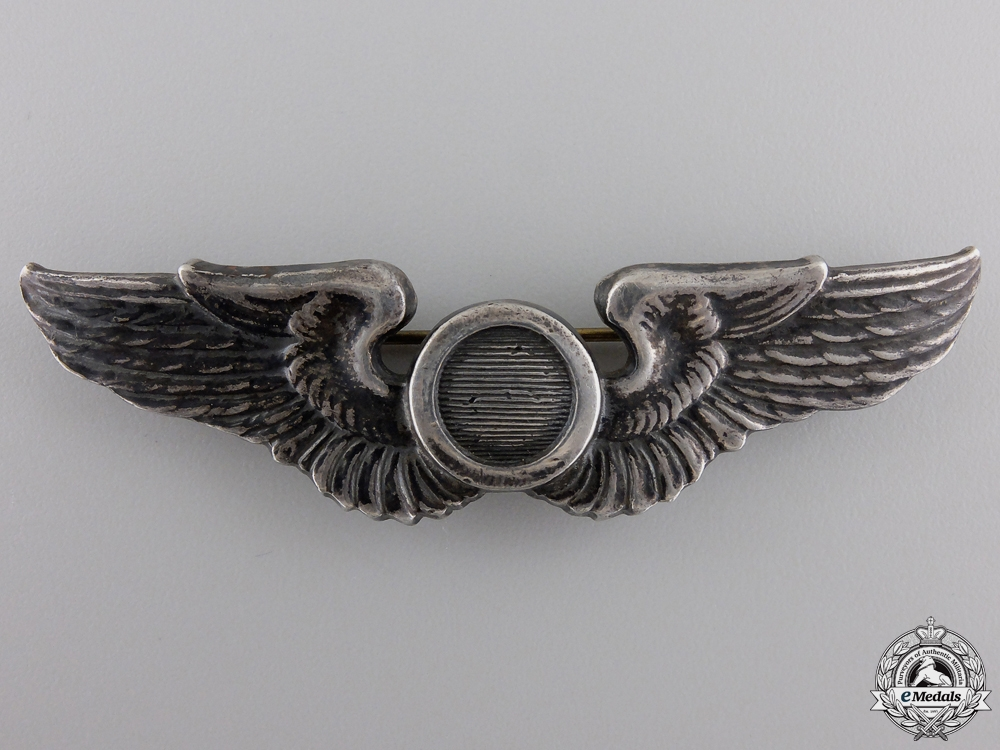 An American Second War Air Force Aircraft Observer Badge