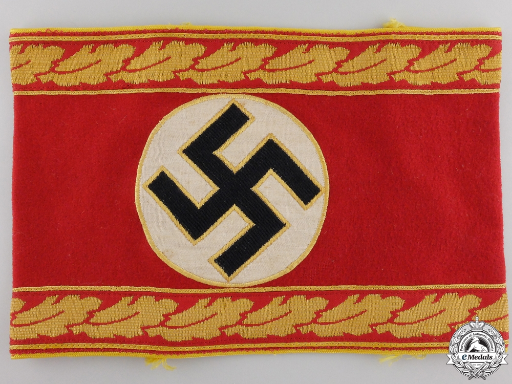 An Armband for the Reich Level Leiter eines Oberen or Obersten