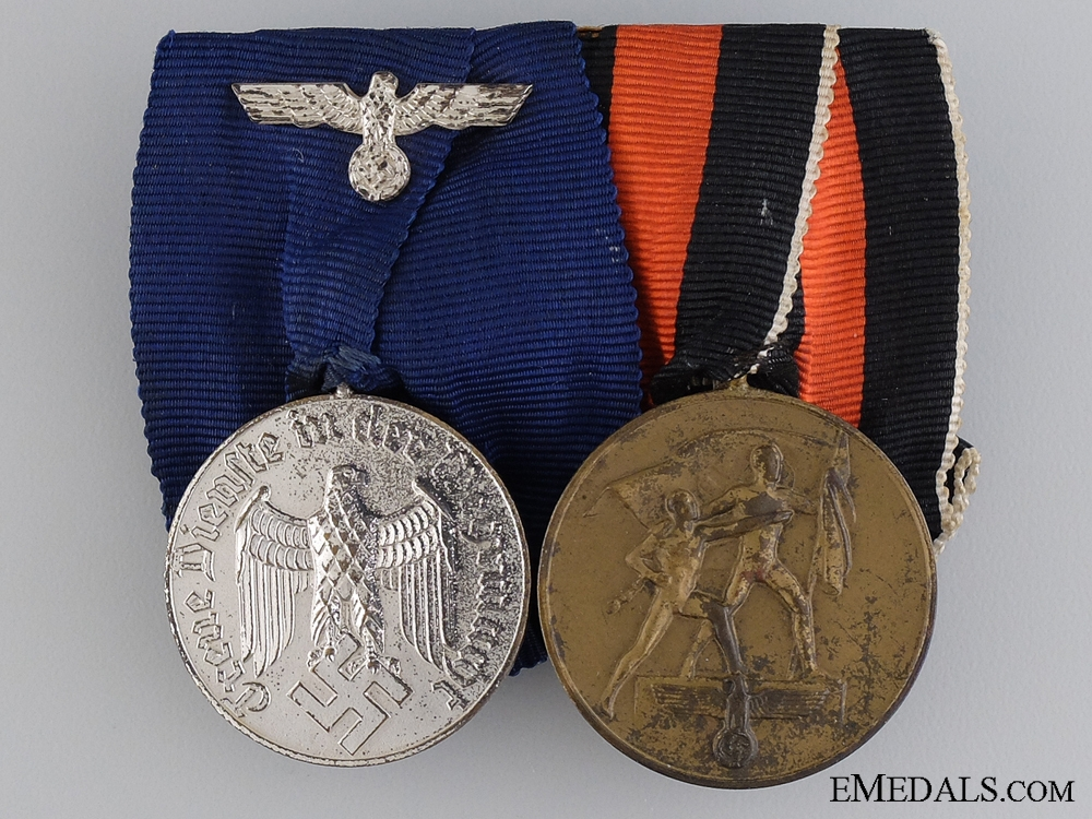An Army (Heer)  Long Service Pair