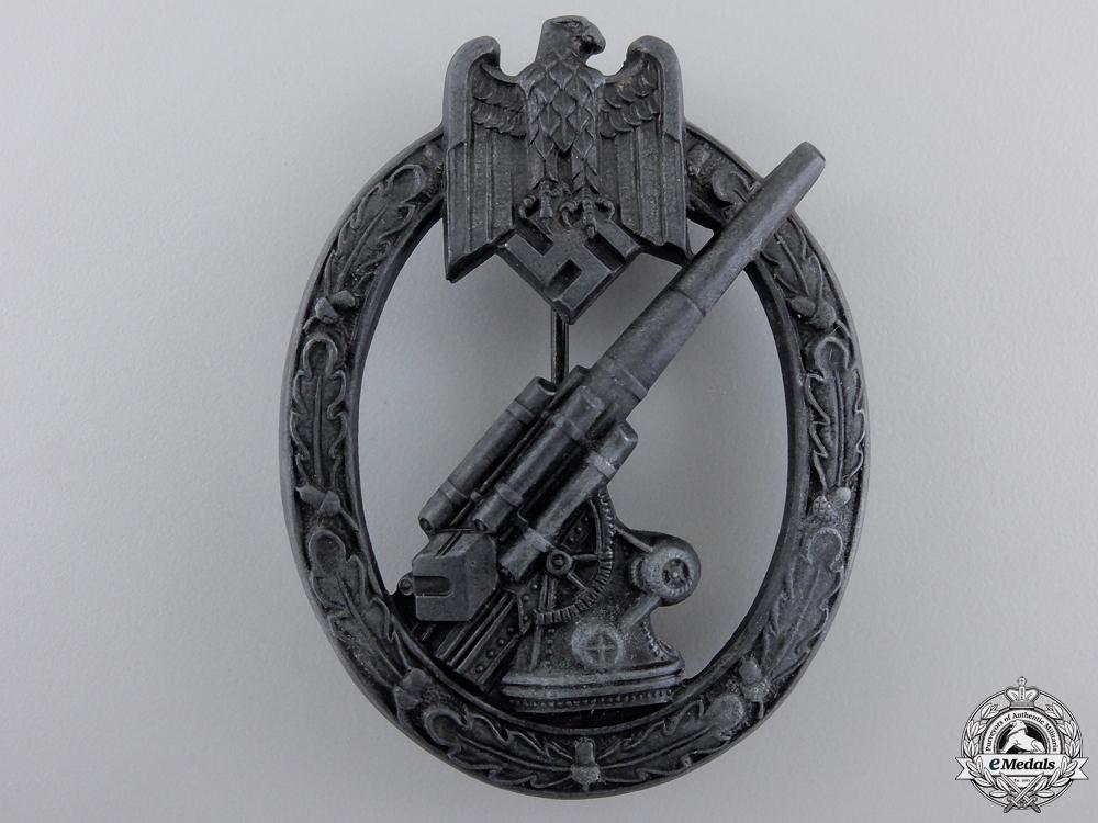 An Army Flak Badge by Herman Aurich