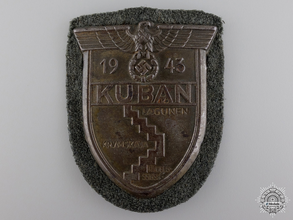 An Army Issued Kuban Shield