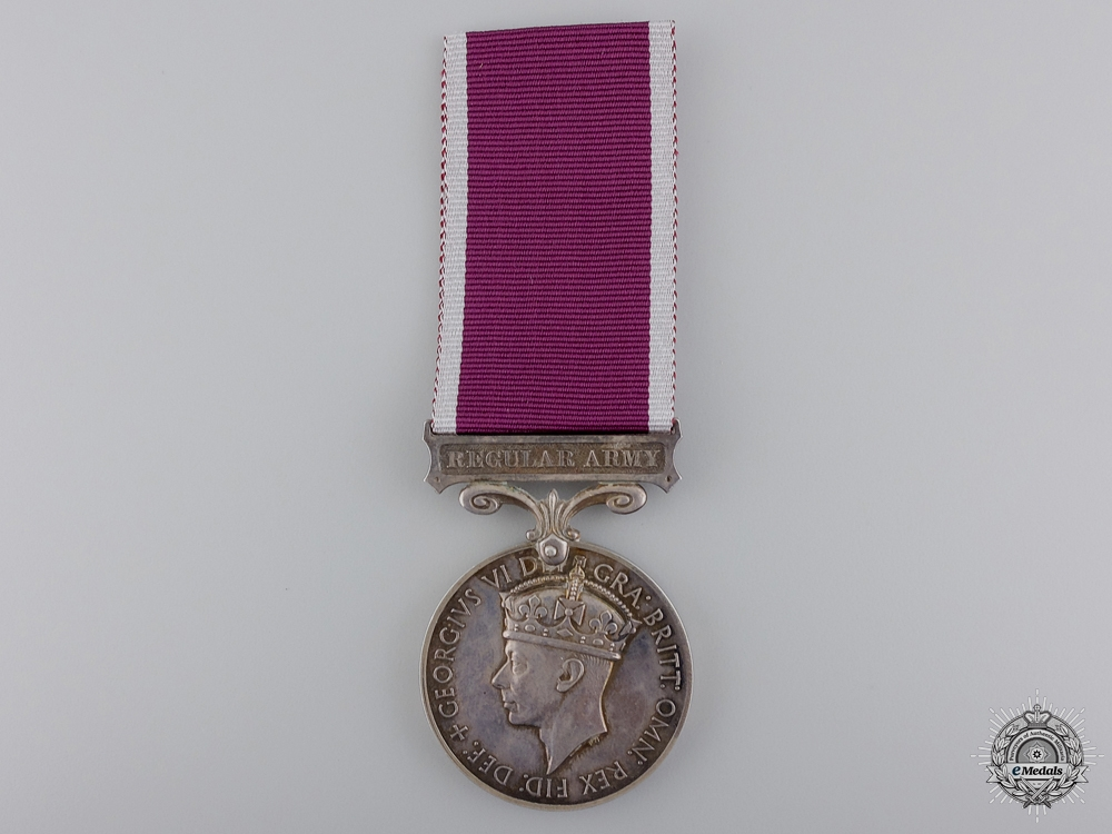 An Army Long Service & Good Conduct Medal to the Worc. Regt.