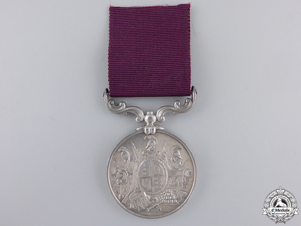 An Army Long Service and Good Conduct Medal to the Royal Art.