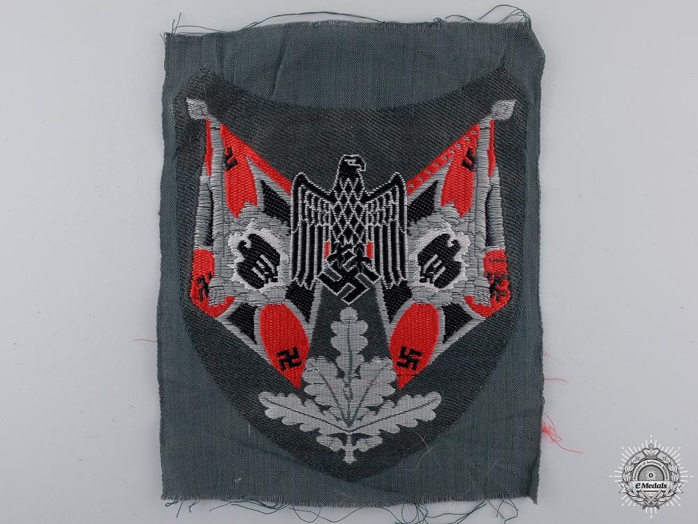 An Artillery Flag Bearer Sleeve Insignia; Mint