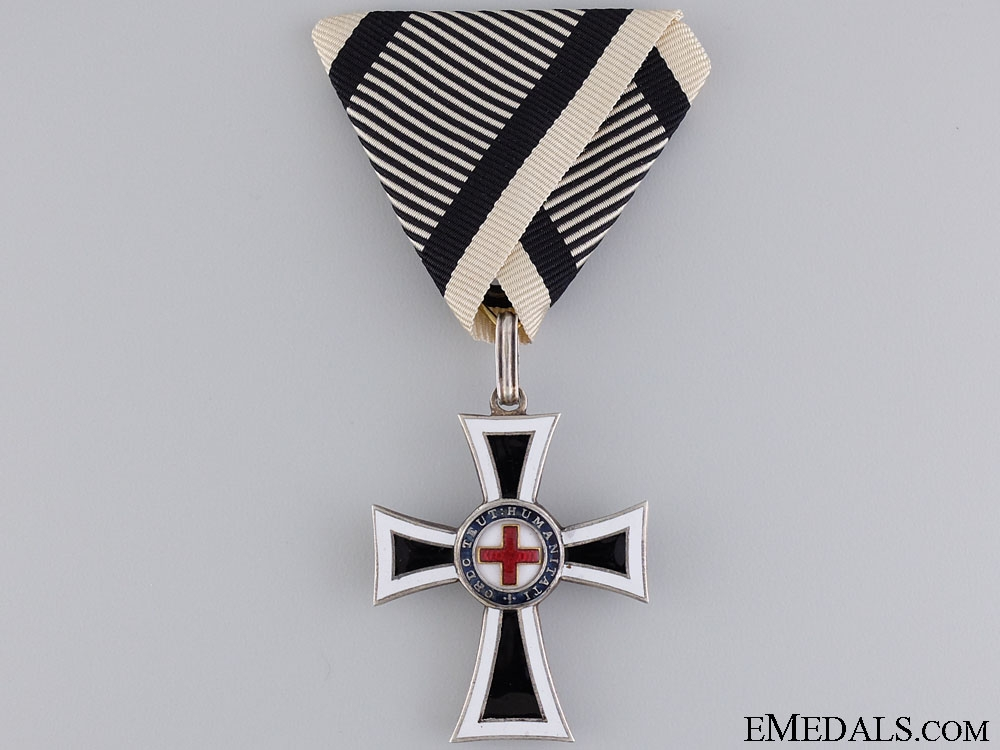 An Austrian German Knight Order; Marine Cross