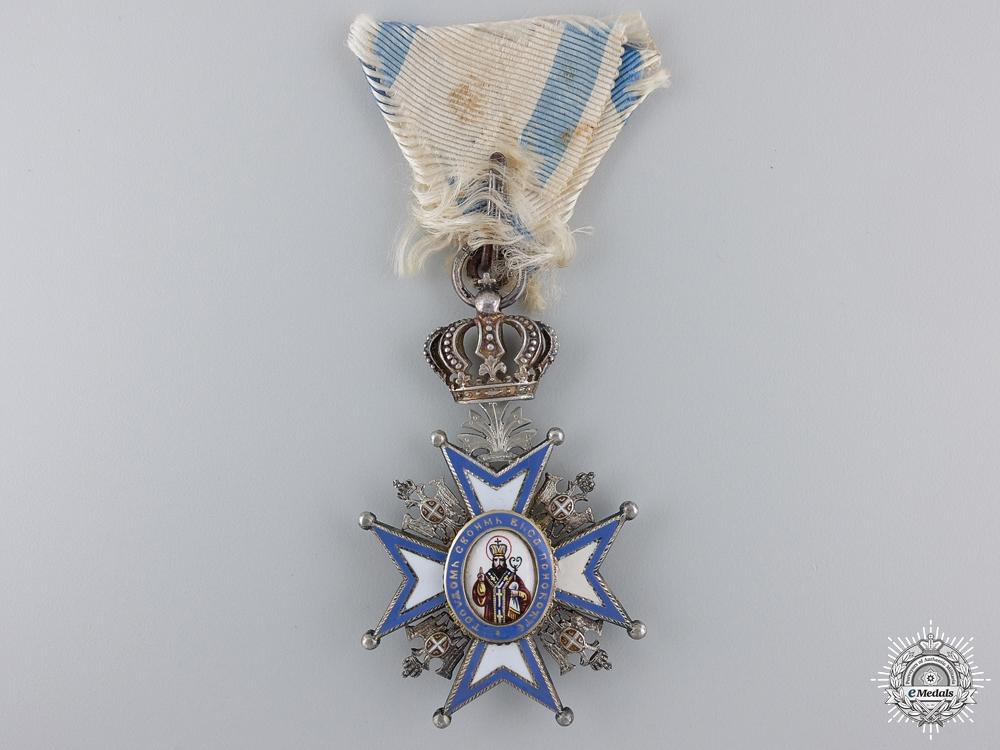 An Austrian Made Serbian Order of St. Sava by Scheid