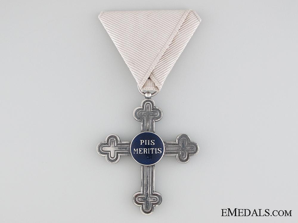 An Austrian Military Chaplains Merit Cross
