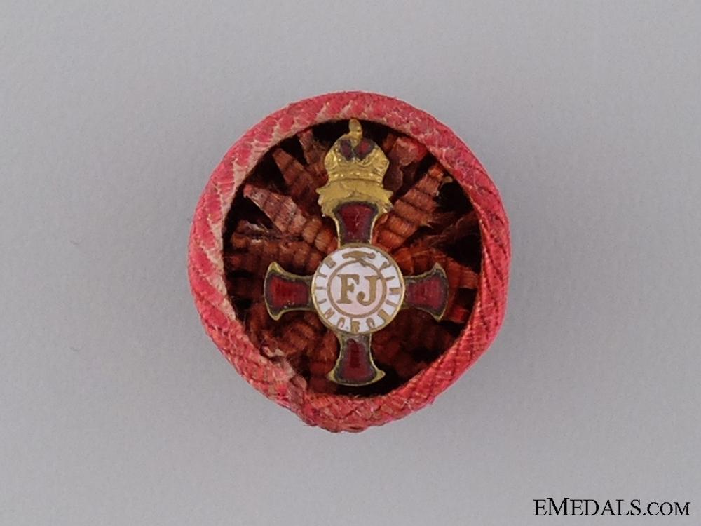 An Austrian Order of Franz Joseph Rosette in Gold