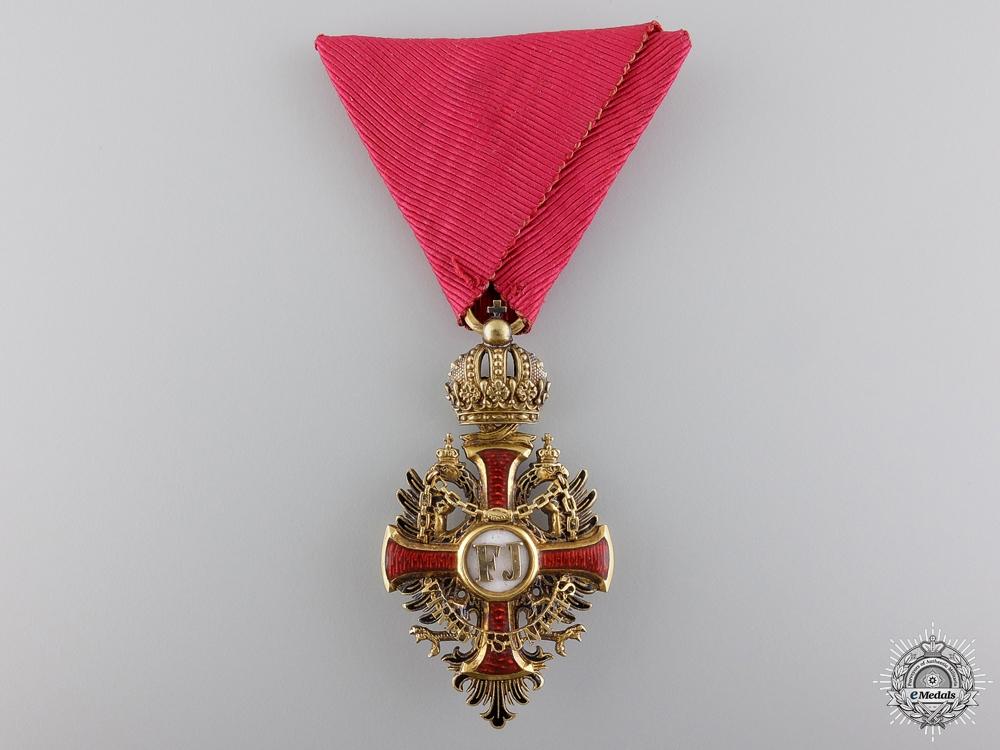 An Austrian Order of Franz Joseph in Gold by Gebruder Resch