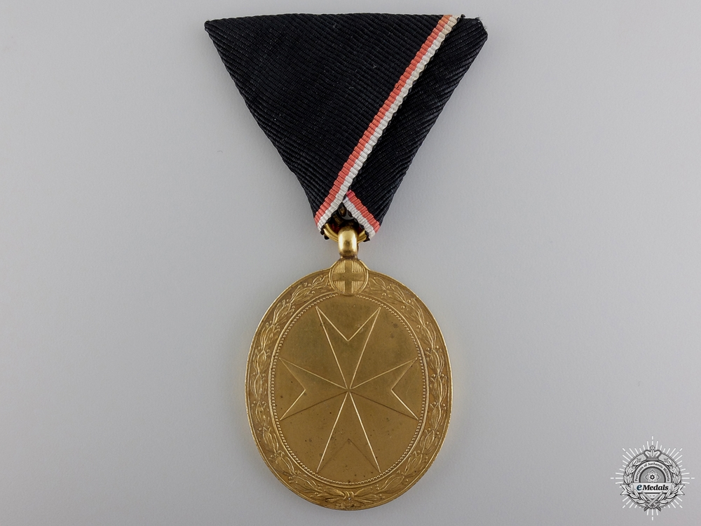 An Austrian Order of the Knights of Malta Medal