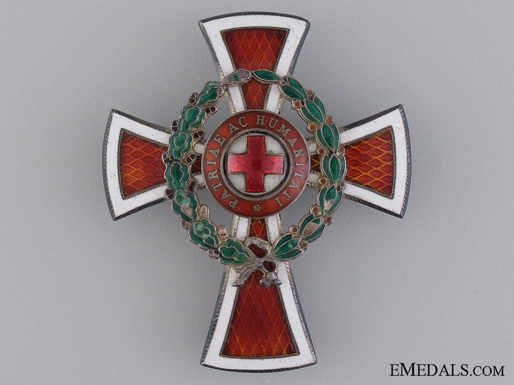 An Austrian Red Cross Officer's Decoration 1864-1914