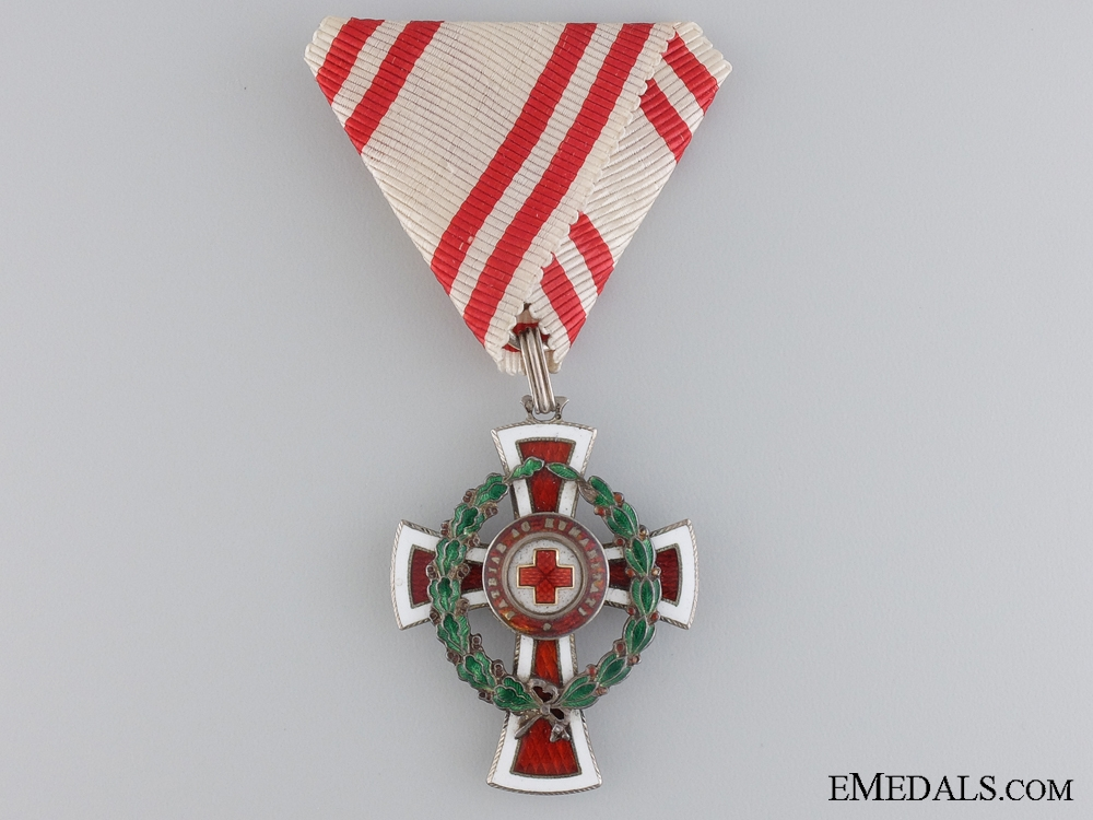 An Austrian Red Cross Honour Decoration