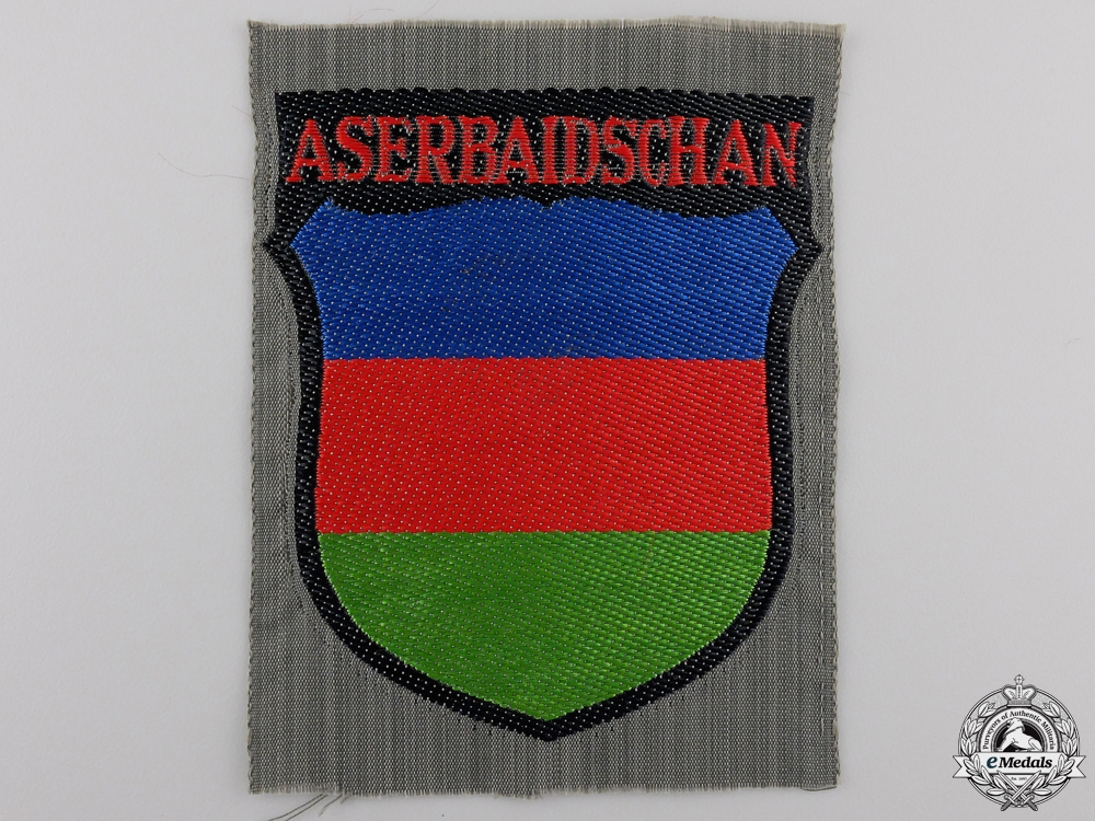 An Azerbaijani Volunteers Arm Shield
