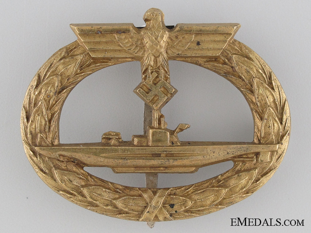 An Early German Submarine War Badge